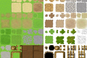 A2 Edit für Dorf/Wald