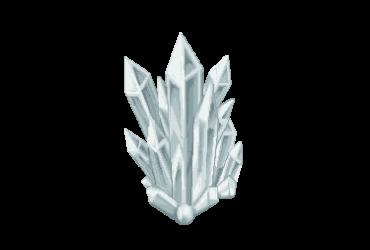 großer Kristall
