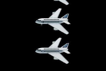 Ein Flugzeug (Airline MV)