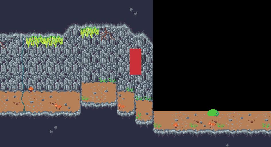 WIP Tileset für ein Höhlenspiel im Game Maker Studio 2 #2