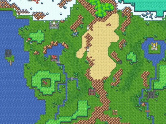 Tales of Mana - Weltkarte