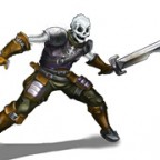 Skelettkämpfer Schwert