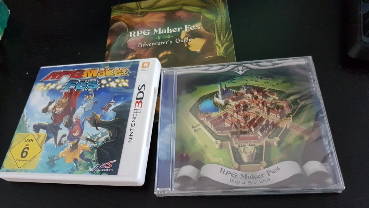Rpg Maker FES (Collector's Edition)