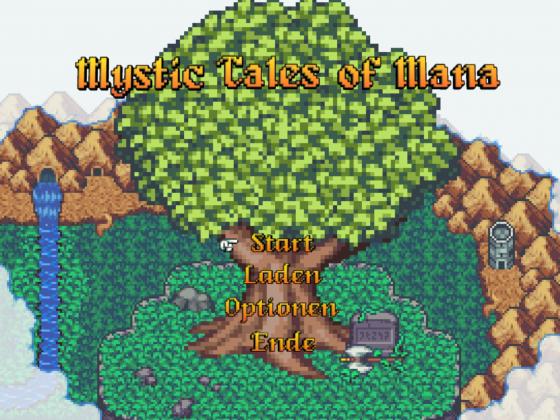 (Mystic) Tales of Mana - Neuer Titelbildschirm