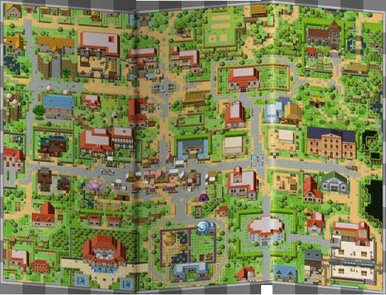 Stadtplan der Ace-Community-Stadt