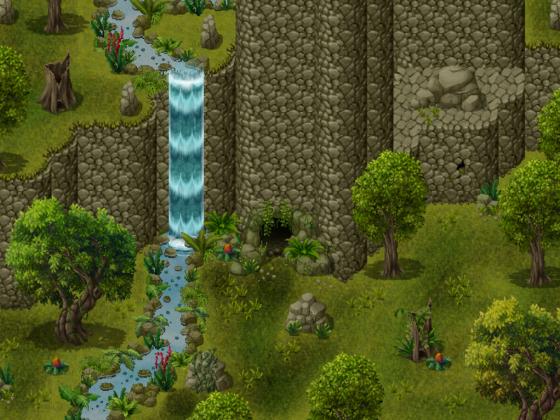 Moghara Falls
