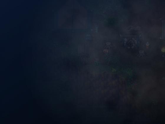 Testmap für Horror-Spiel (neblige Nacht - Teil 2/2)