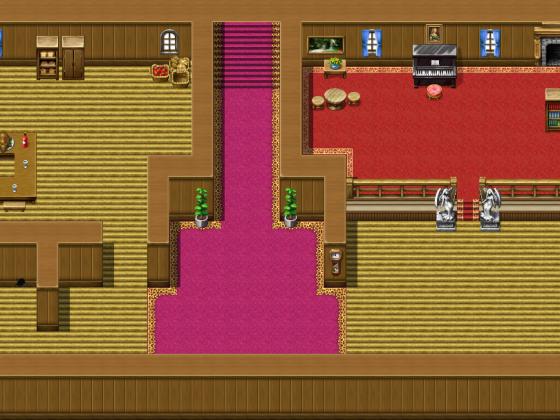 Parallax-Spielerhaus Eingang