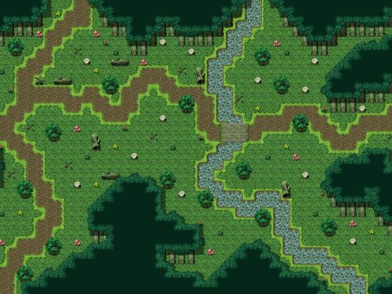 Wald-Map (Versuch)