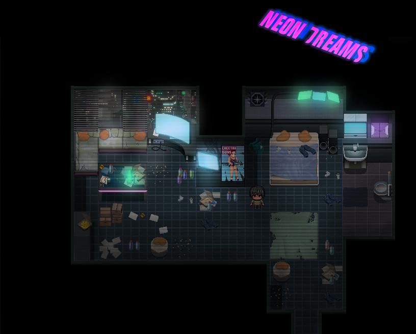 Apartment des Spielers