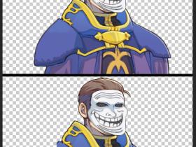 Flesc 2 - Charakter Portrait fertig gezeichnet
