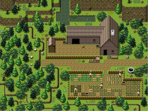 Farm im Wald Stufe 1