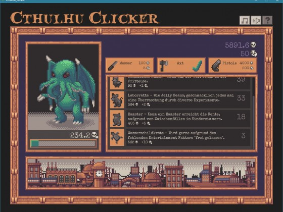 Cthulhu Clicker Screenshot