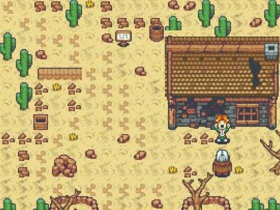 Zwerg in der Wüste