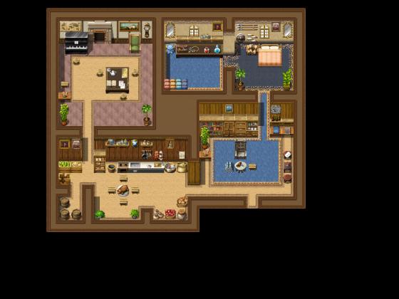 Wohnraum mit den Standard Sachen von MV