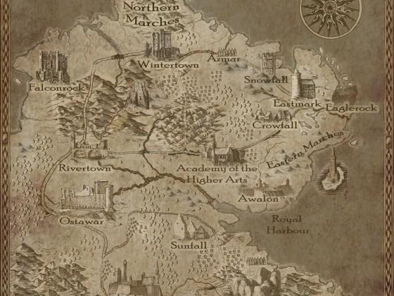 Regionskarte Astendir