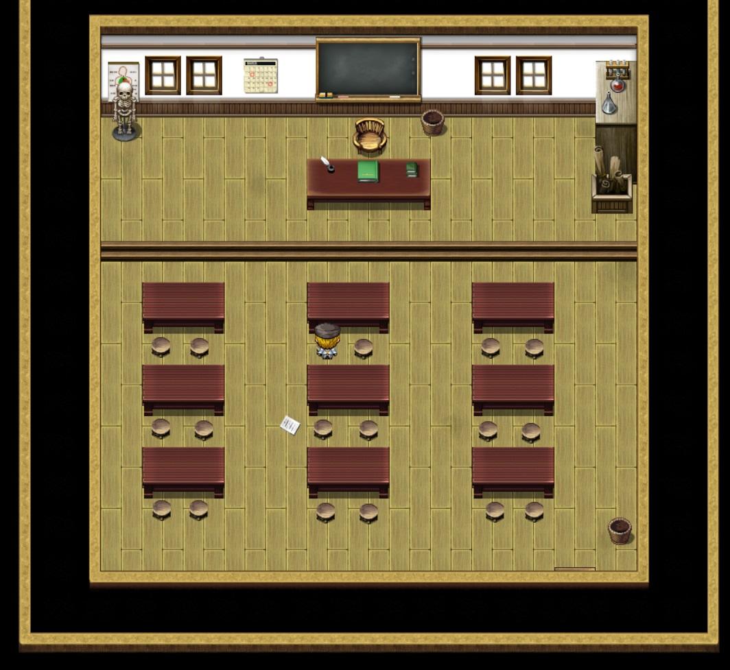 K(l)eine Götter - Klassenzimmer
