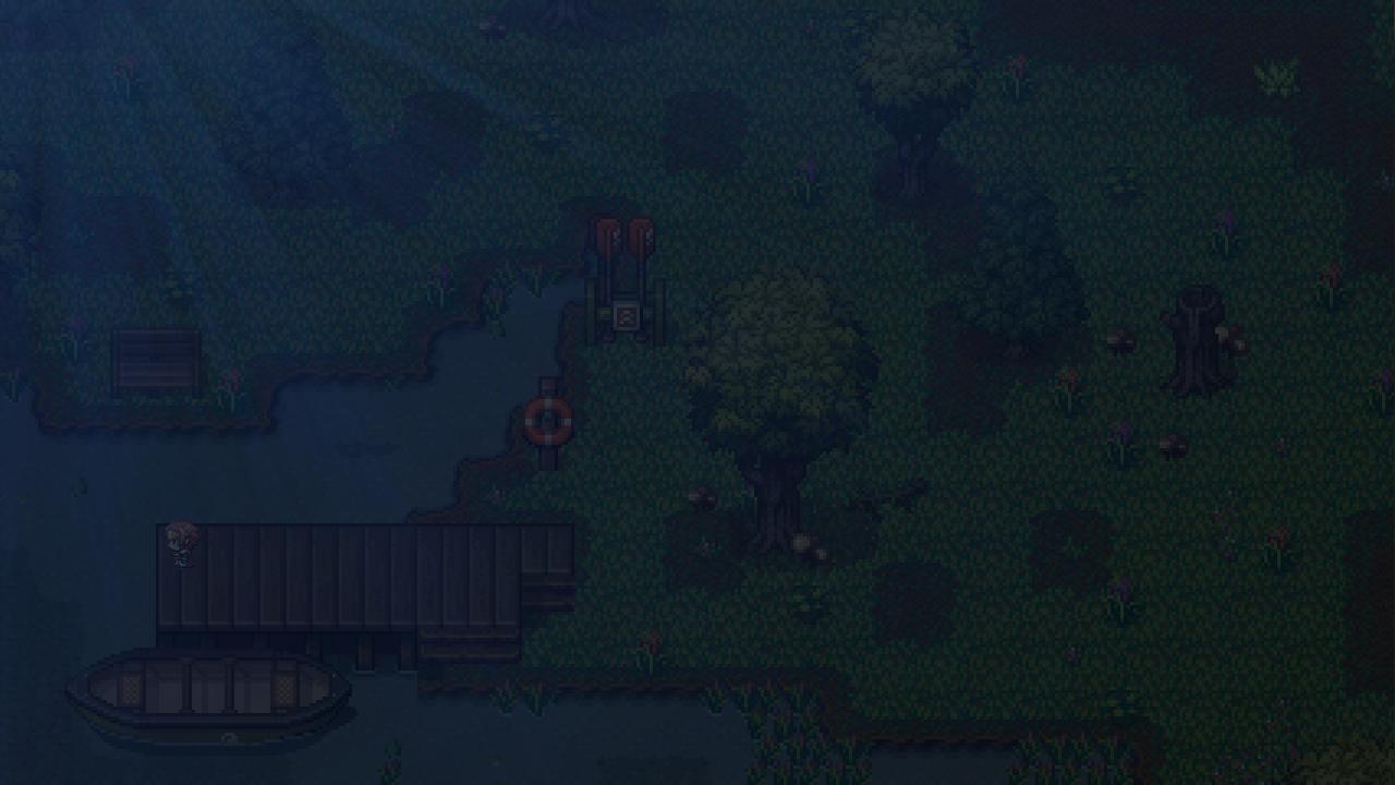 Testmap für Horror-Spiel (Mondschein / Nacht - Teil 1/2)