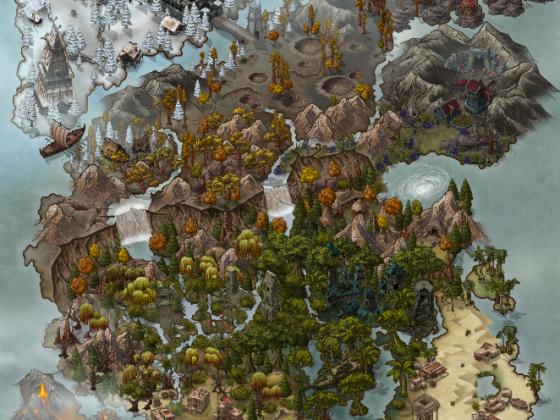 Worldmap Akiyha
