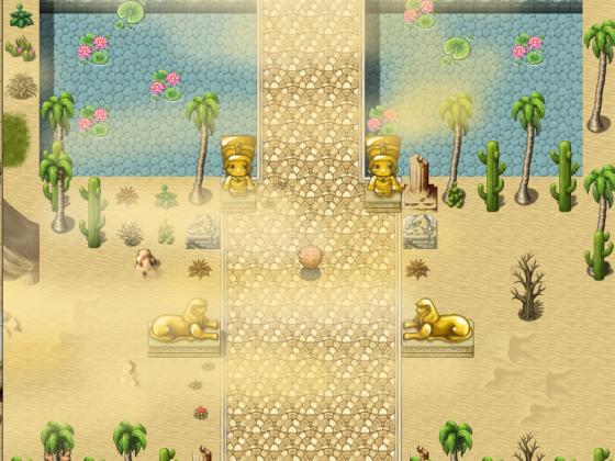 Tempel in der Wüste