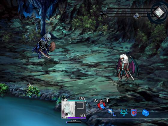 Siegelhöhle Battle Background