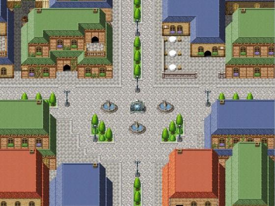 Zentrum der Stadt - Engelsspiegel