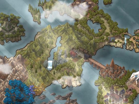 Worldmap - Abgeschlossen