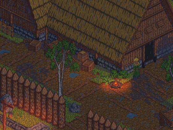 Einblick in eine mögliche Siedlung