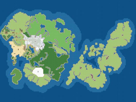 RPG Maker MV - World Map für unser Spiel (v0.1)