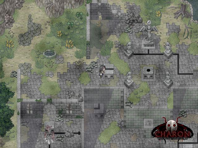 Schieberätsel in nebligen Ruinen [Charon - Zhetan Chronicles]