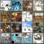 24 WinterWeihnachts-Bilder