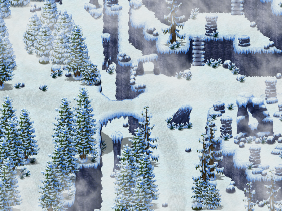 Schneelandschaft - Test
