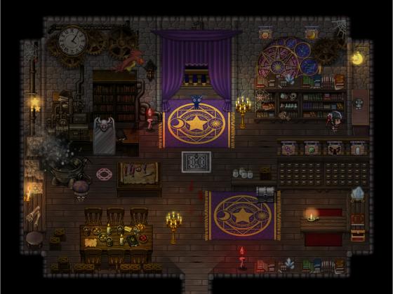 Alchemie Raum
