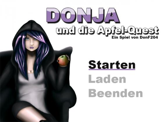 Der Titlescreen für mein aktuelles RPG Maker XP Projekt.