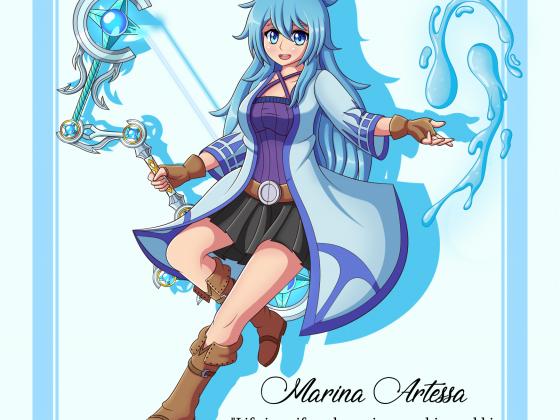 Marina - Die Hydromancerin