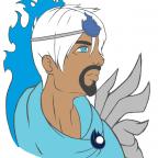 Kylion-Bust (aus dem Spiel Wings of Justice)
