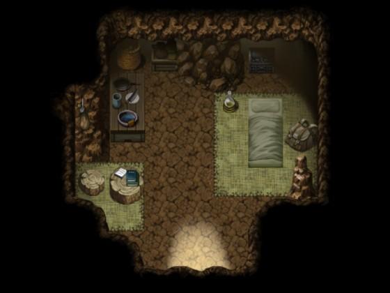 K(l)eine Götter - Höhle