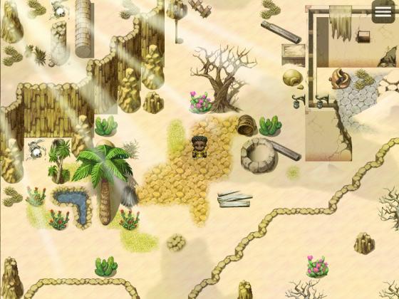 Wüstengegend