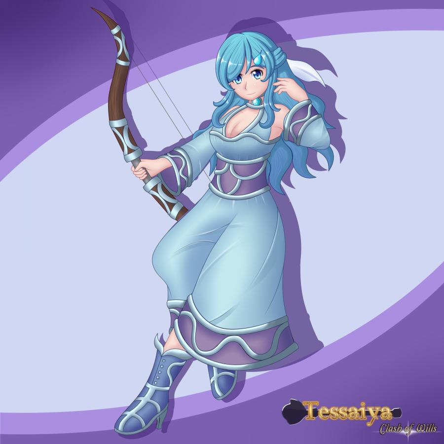 Tessaiya Artwork - Serena