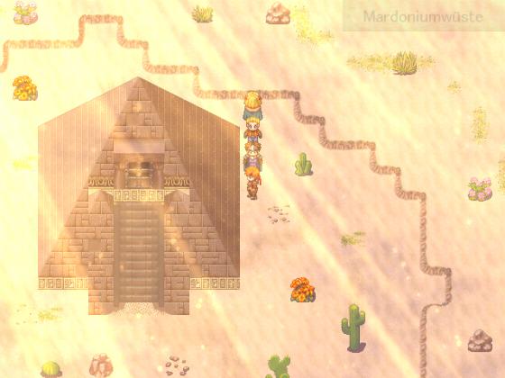 Geheimnisvolle Pyramide