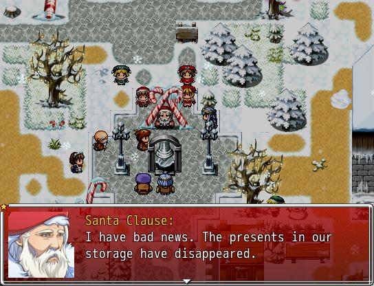 Die Geschenke sind weg!